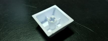 WASD side printed white keycap