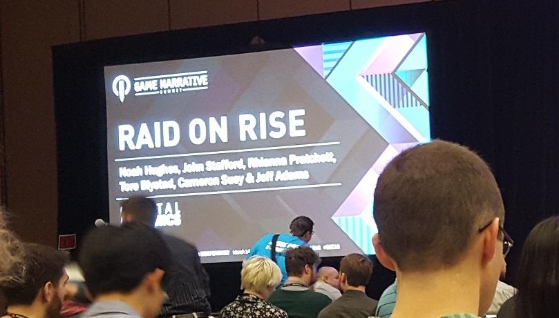 Raid on Rise: a GDC Panel