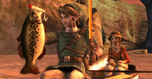 Legend of Zelda Fish