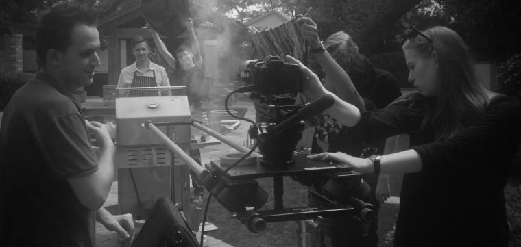 "Behind the scenes of short film ""MEAT"""