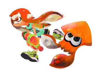 Splatoon - Inkling Girl