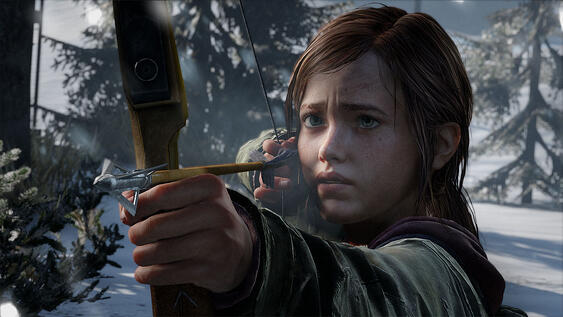 Ellie with Bow
