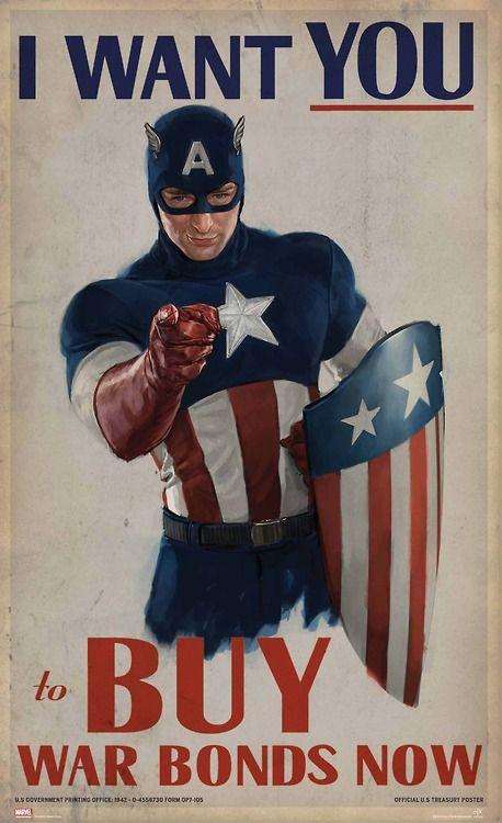 Captain American propaganda.