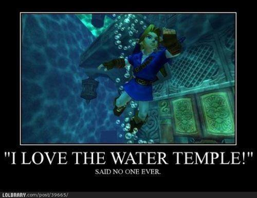 I love the water temple