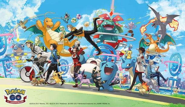 Pokemon Aniversary
