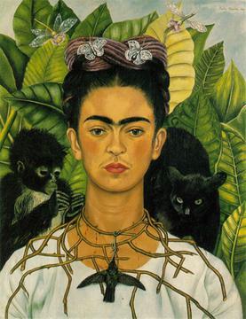 Frida Kahlo Self-Portrait