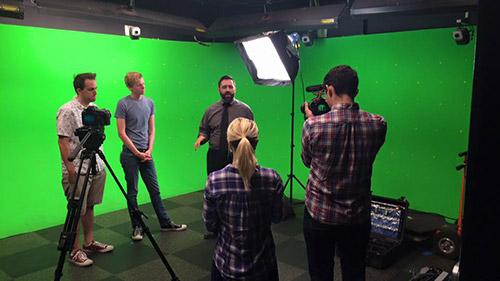 Greenscreen Studio at UAT