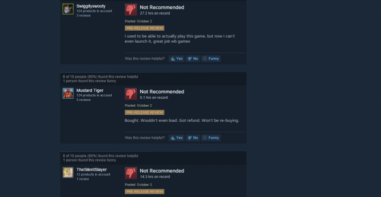 Older Reviews