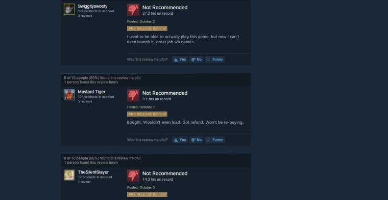 Older Reviews