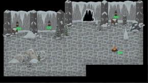 Set design level snow