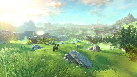 Open World Zelda