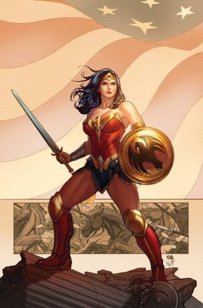 Wonderwoman w shield