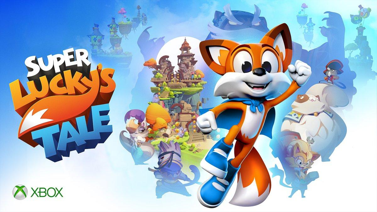 Image result for super lucky's tale