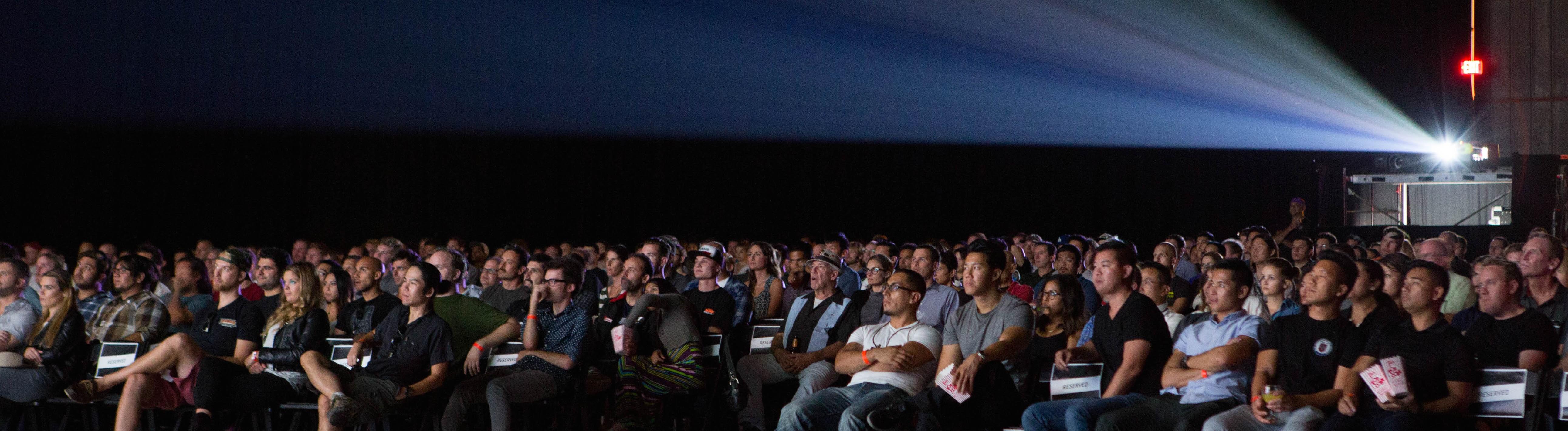 Film festival audience