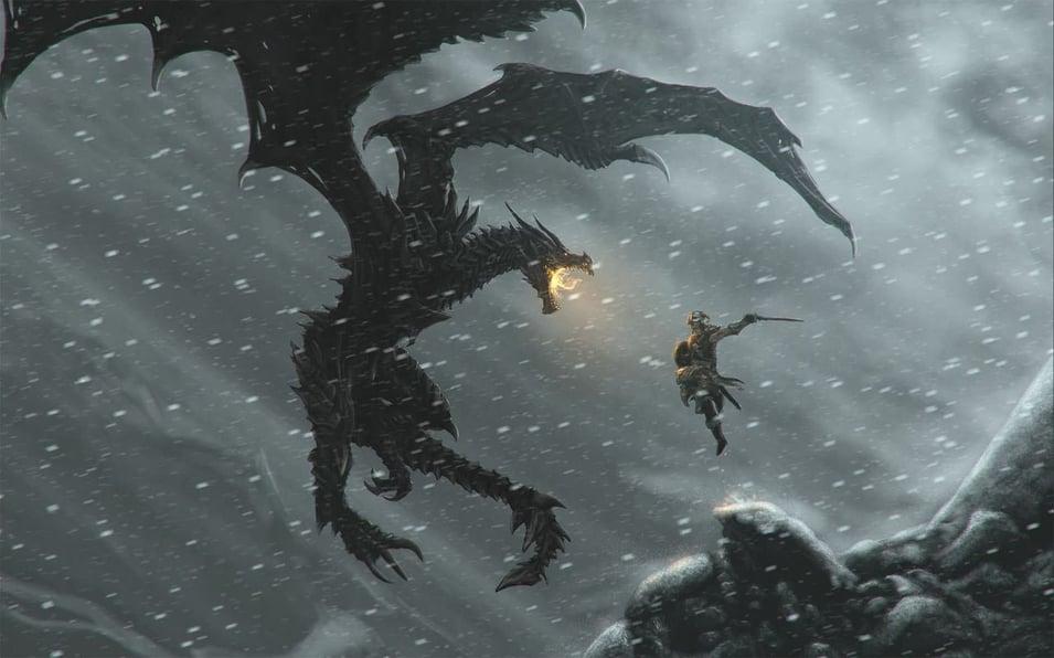 Elder Scrolls scene