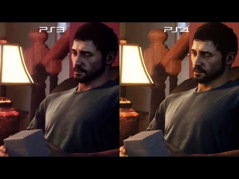 The Last of Us PS3 vs PS4