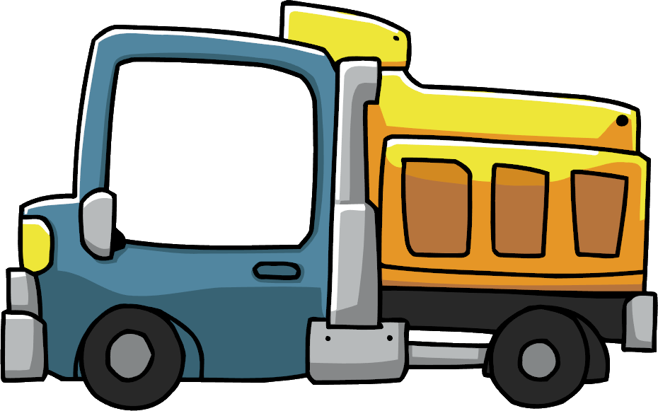 Dump Truck - Scribblenauts