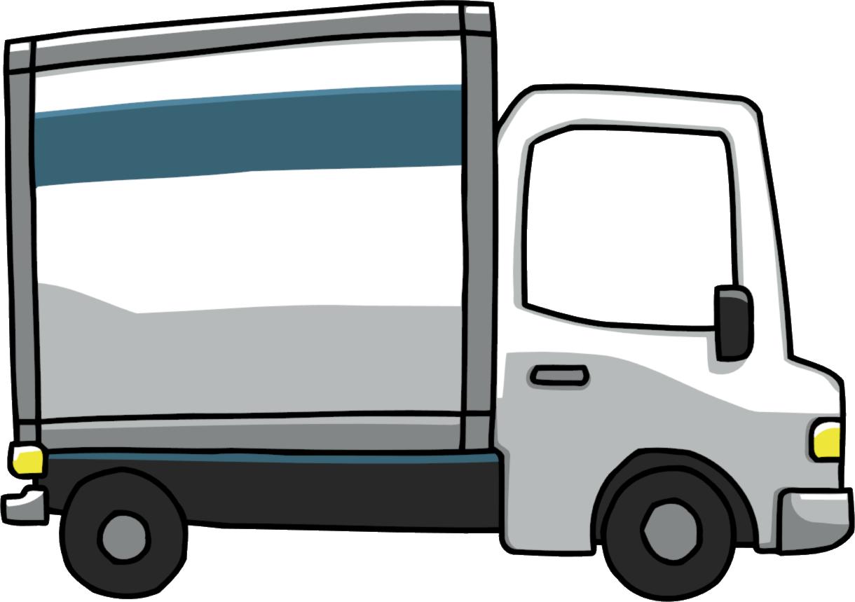Moving Truck - Scribblenauts