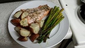 Salmon-Asparagus-Potatoes
