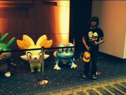 Jake at Pokemon World Championships