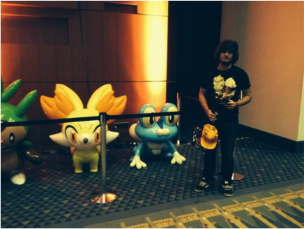 Jake at Pokemon World Championships