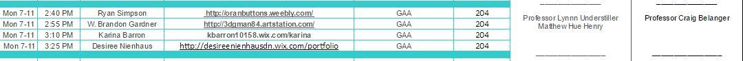 portfolio review schedule
