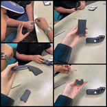 Students creating controller