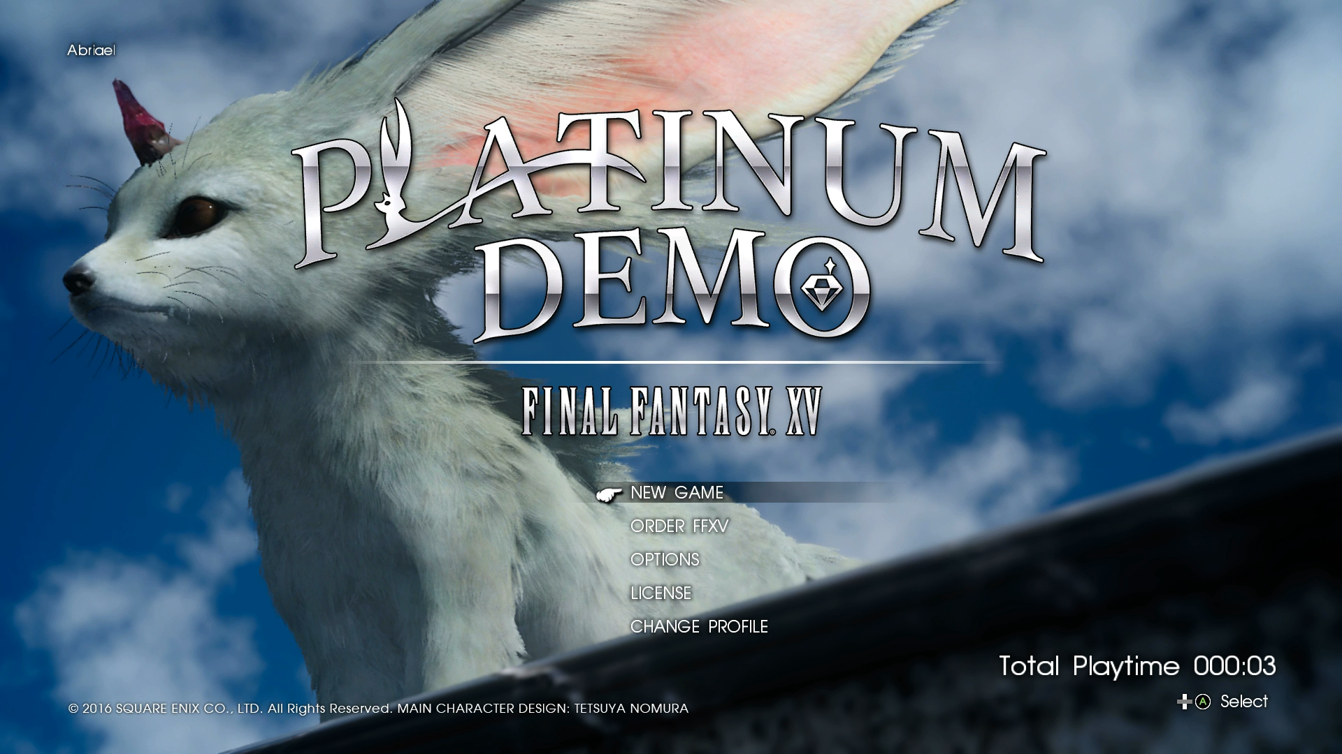Platinum Demo