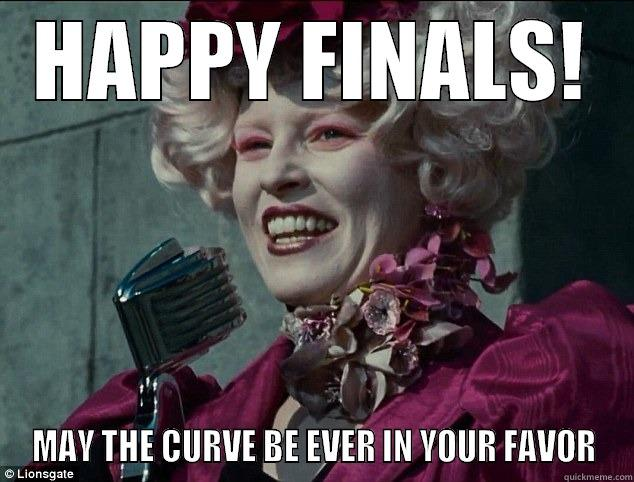 Happy Finals Hunger Games Meme