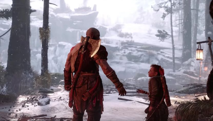 God of War Scene