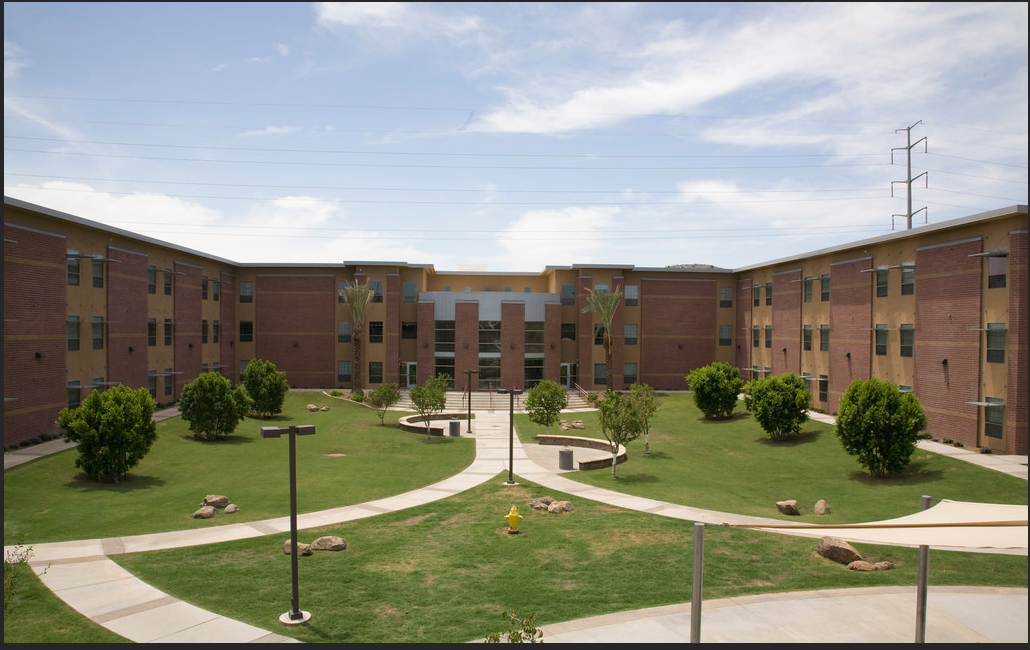 UAT Dorms Outside View