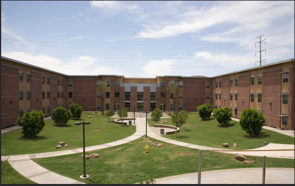 UAT Dorms Outside View